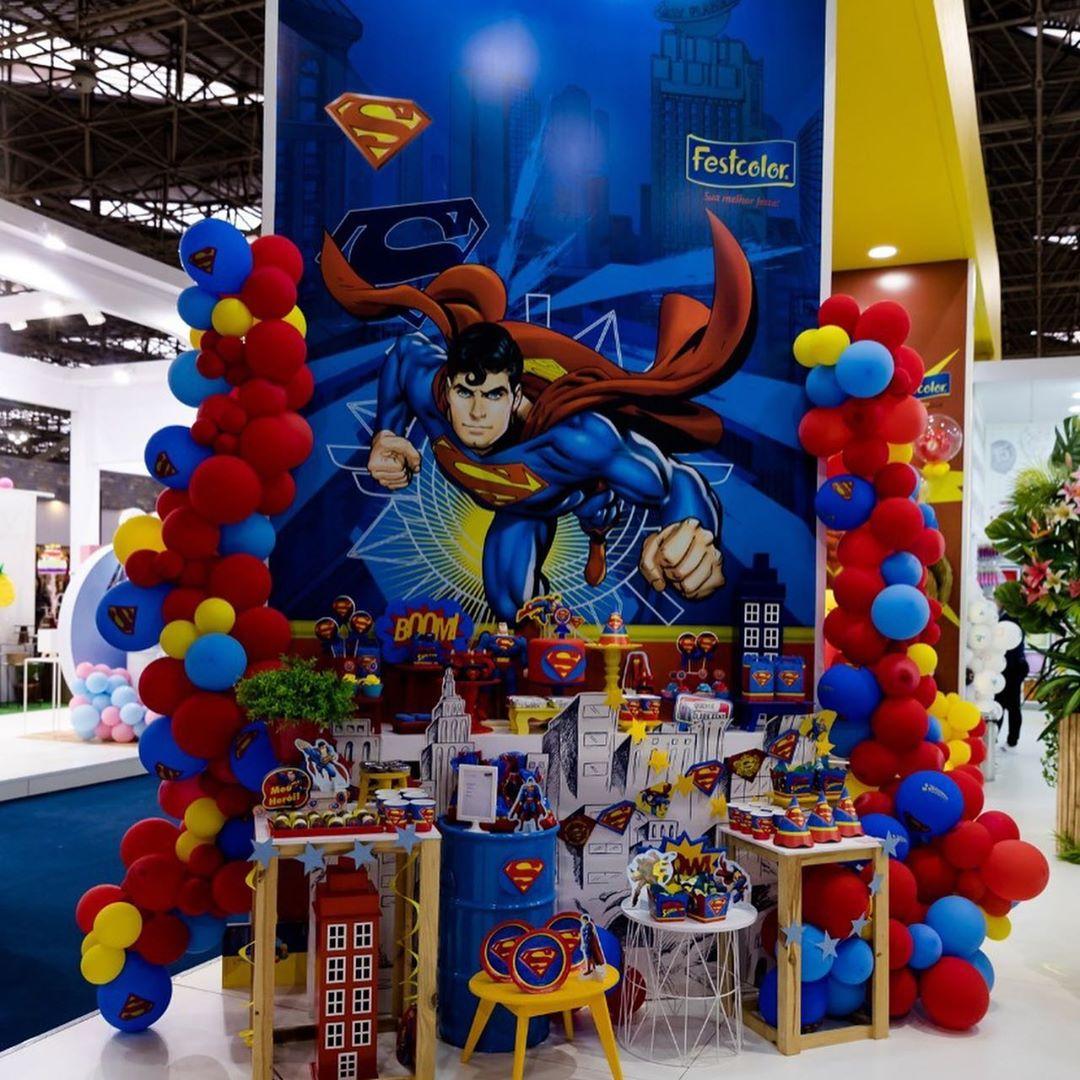 cumpleaños para niño de super man