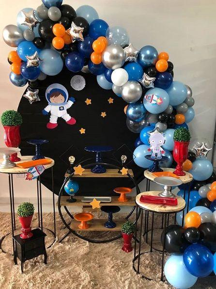 fiesta de astronauta