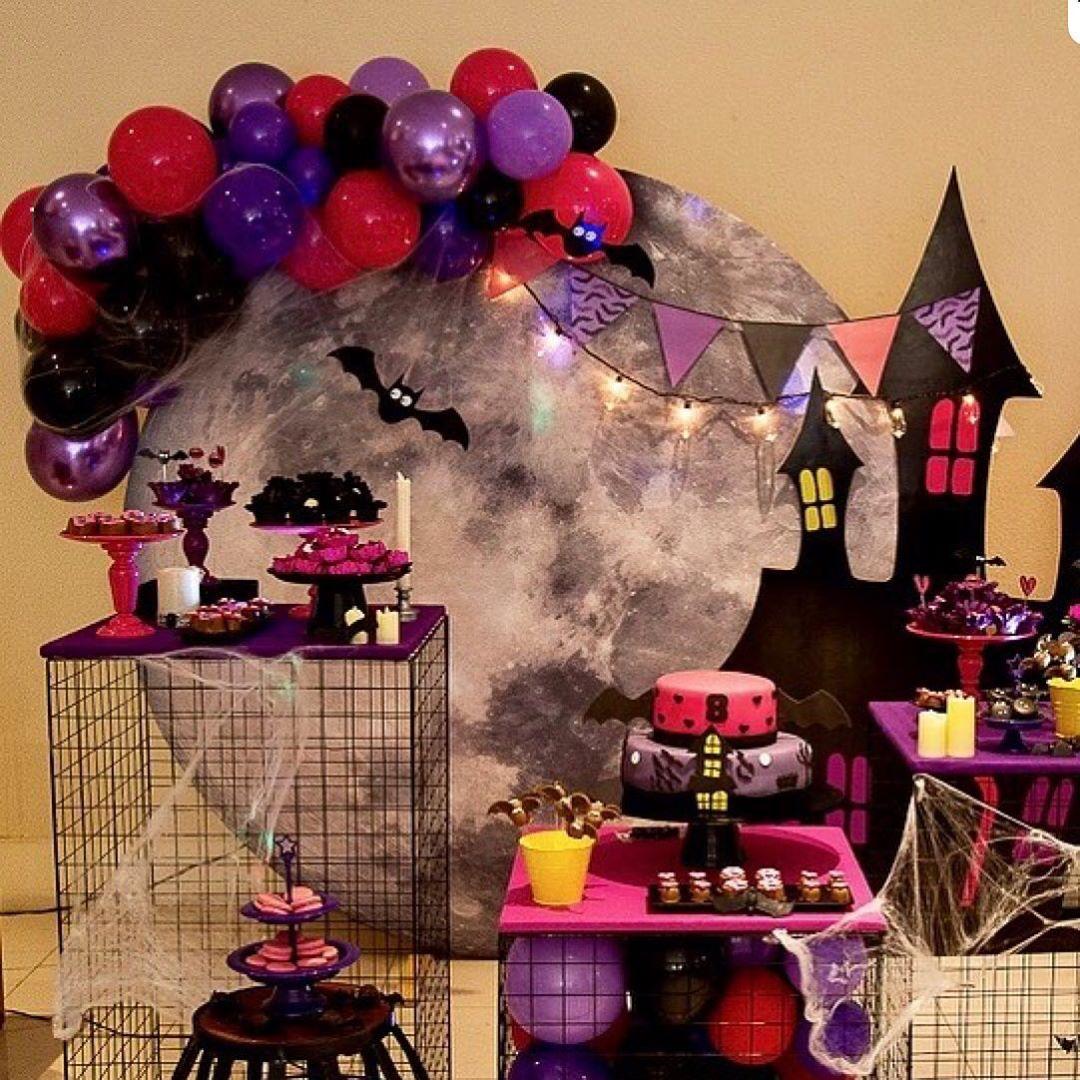 cumpleaños de niña para halloween