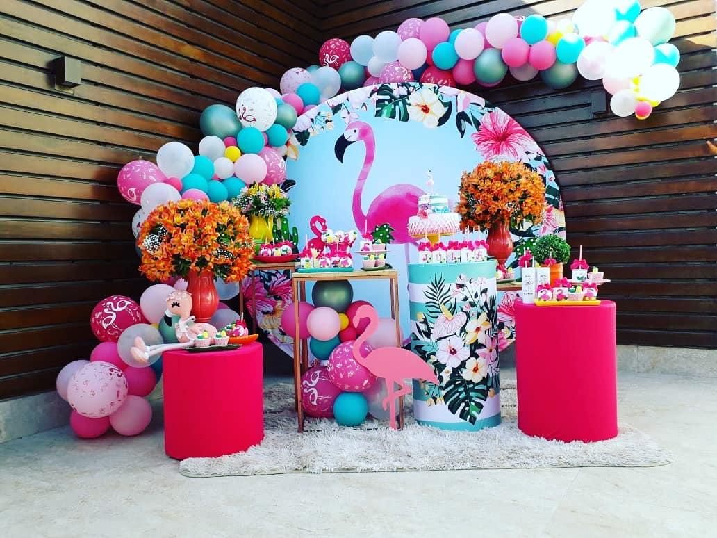 quince años de flamingos