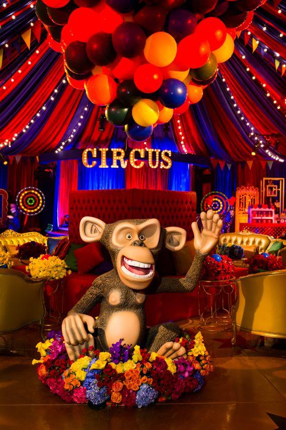 quince años tema circo