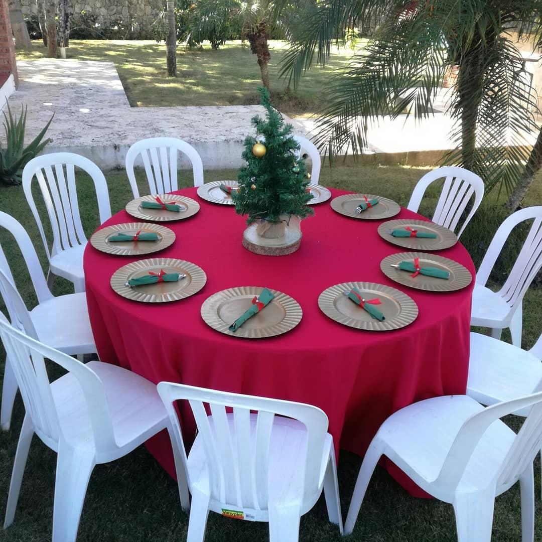centros de mesa para una fiesta de navidad