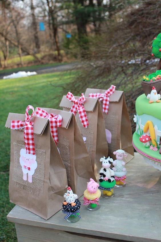 como hacer dulceros de la granja de zenon