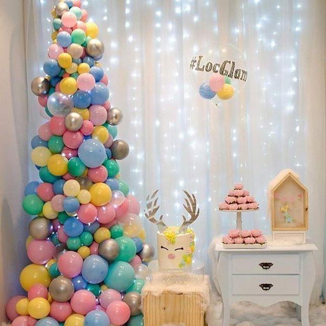 decoracion para una fiesta en navidad