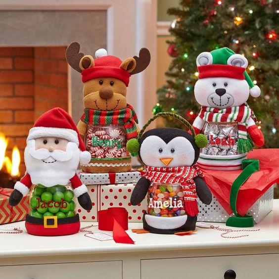 dulceros para navidad
