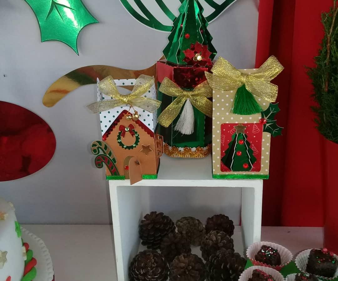 dulceros para una fiesta de navidad