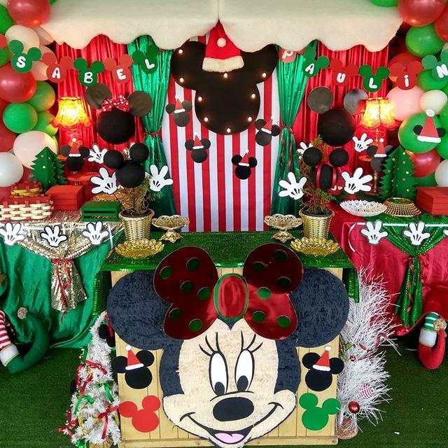 fiesta de navidad de minnie