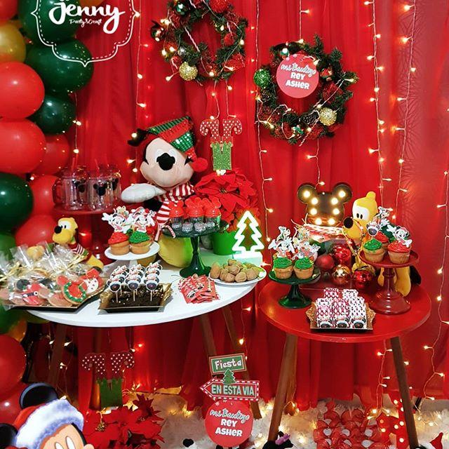 fiesta infantil tematica de navidad