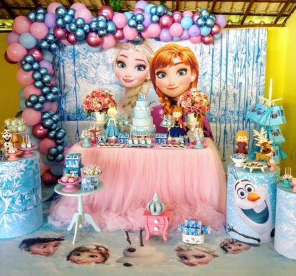 fiesta tematica de frozen 2