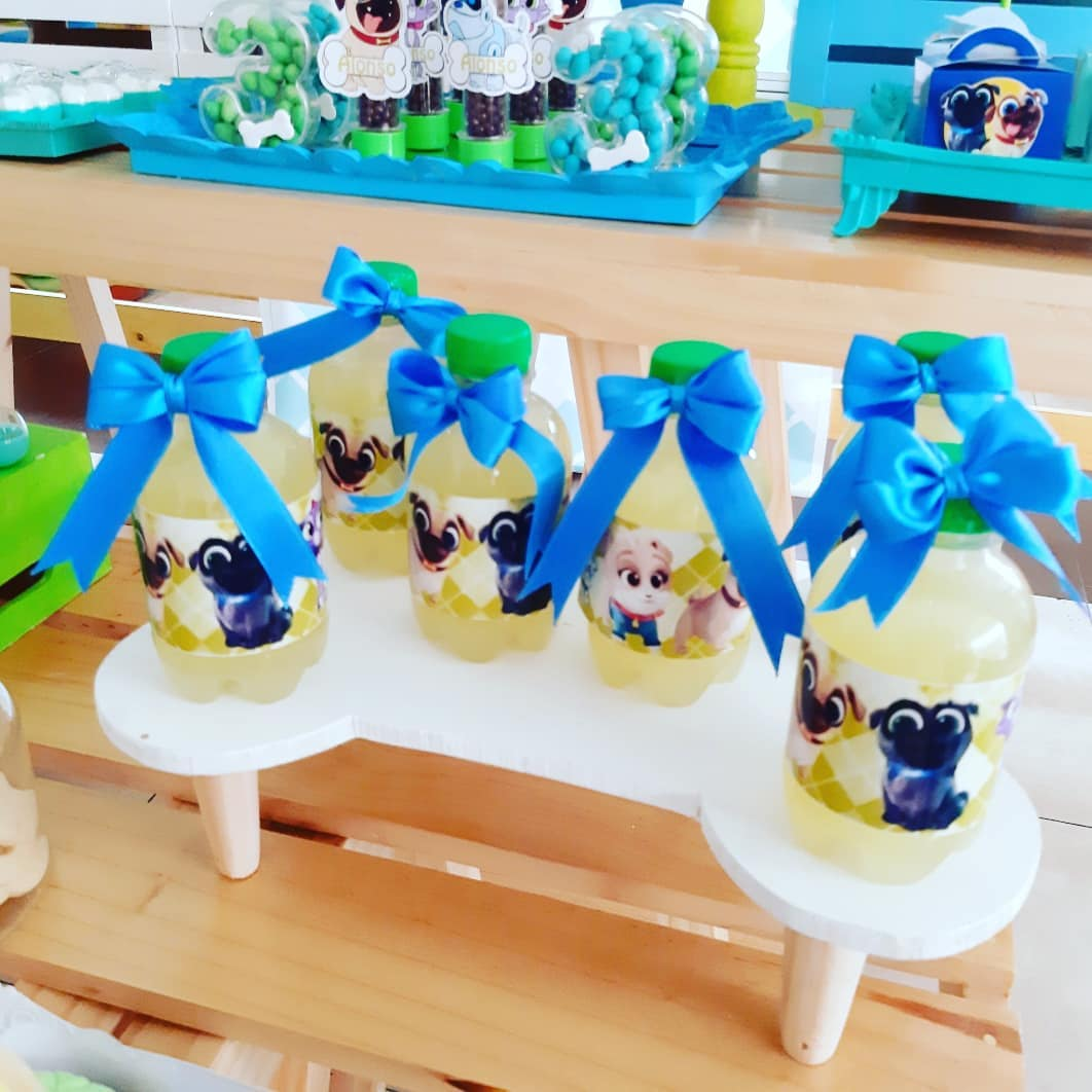 decoracion de puppy dog pals
