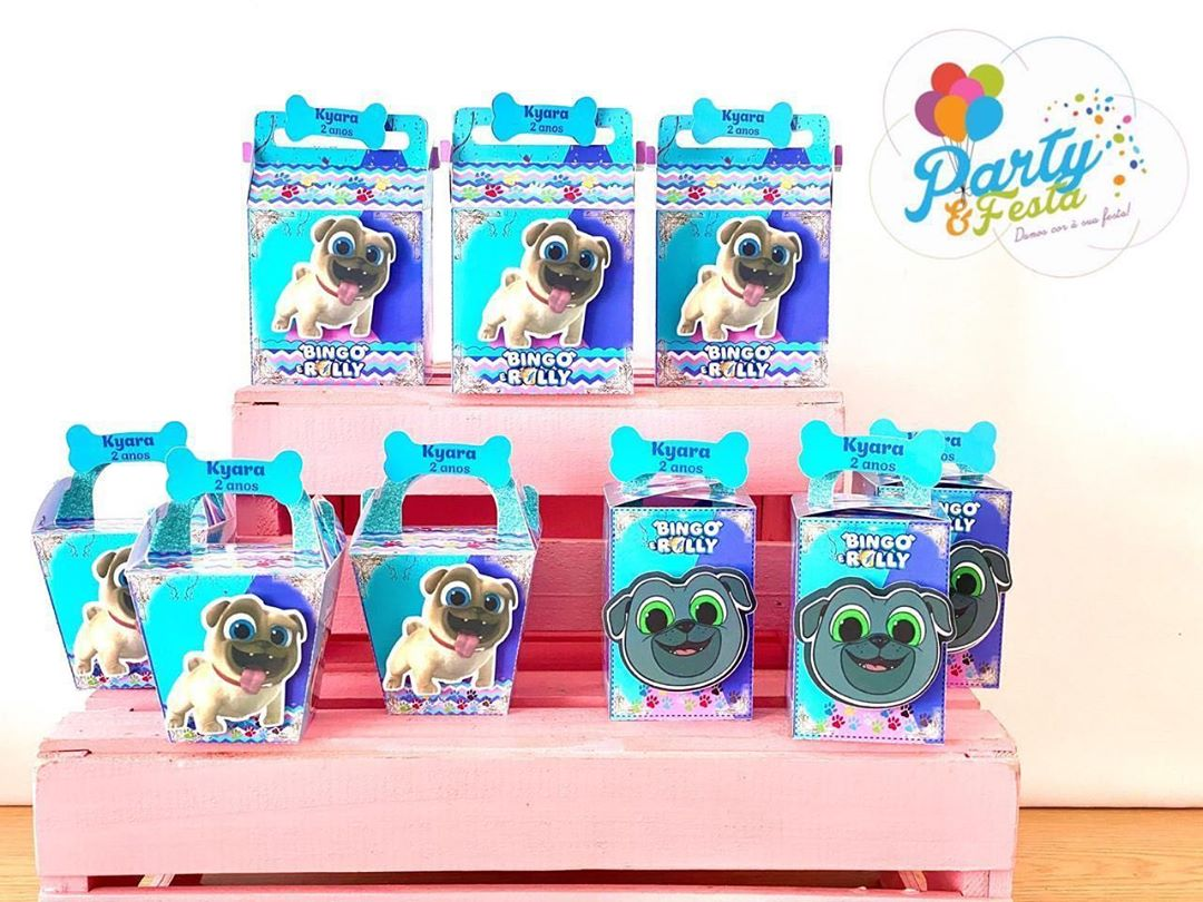 dulceros de puppy dog pals