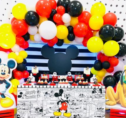 fiesta de mickey mouse