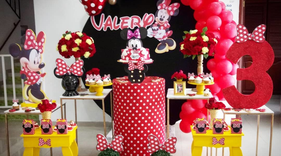 Fiesta De Minnie Mouse Roja Guía Para Su Decoración