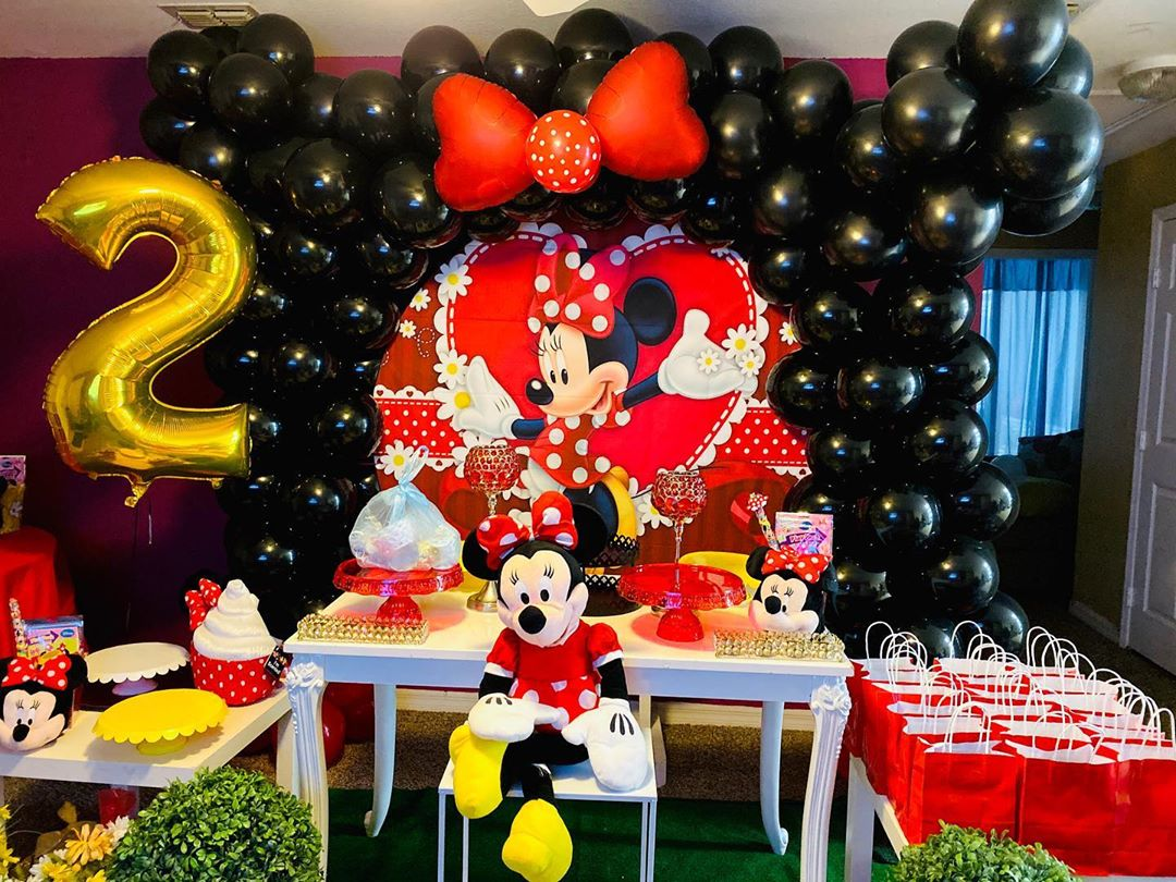 Cajitas Para Bautizo Nino.Fiesta De Minnie Mouse Roja Guia Para Su Decoracion