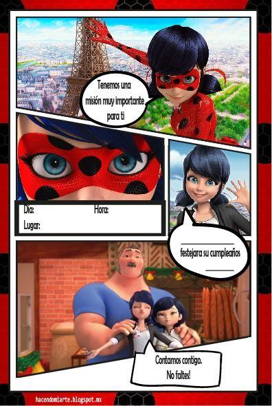 invitaciones de ladybug para hacer