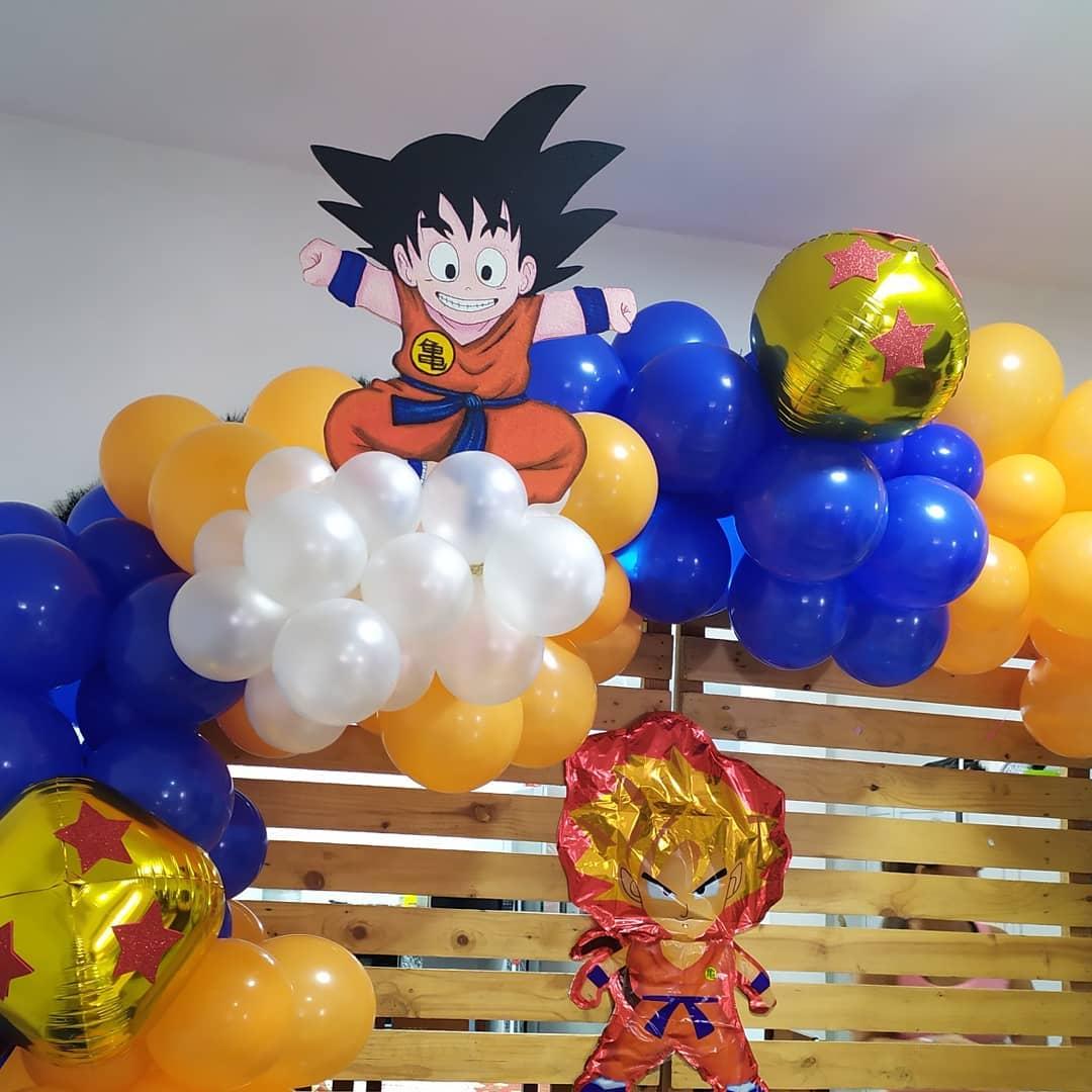 manualidades de dragon ball z para cumpleaños