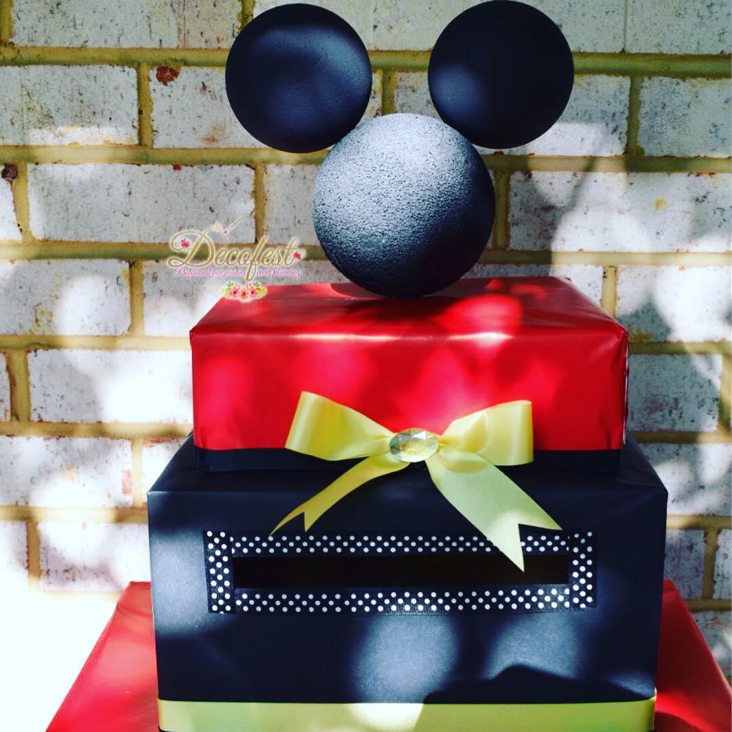 manualidades de mickey mouse para cumpleaños