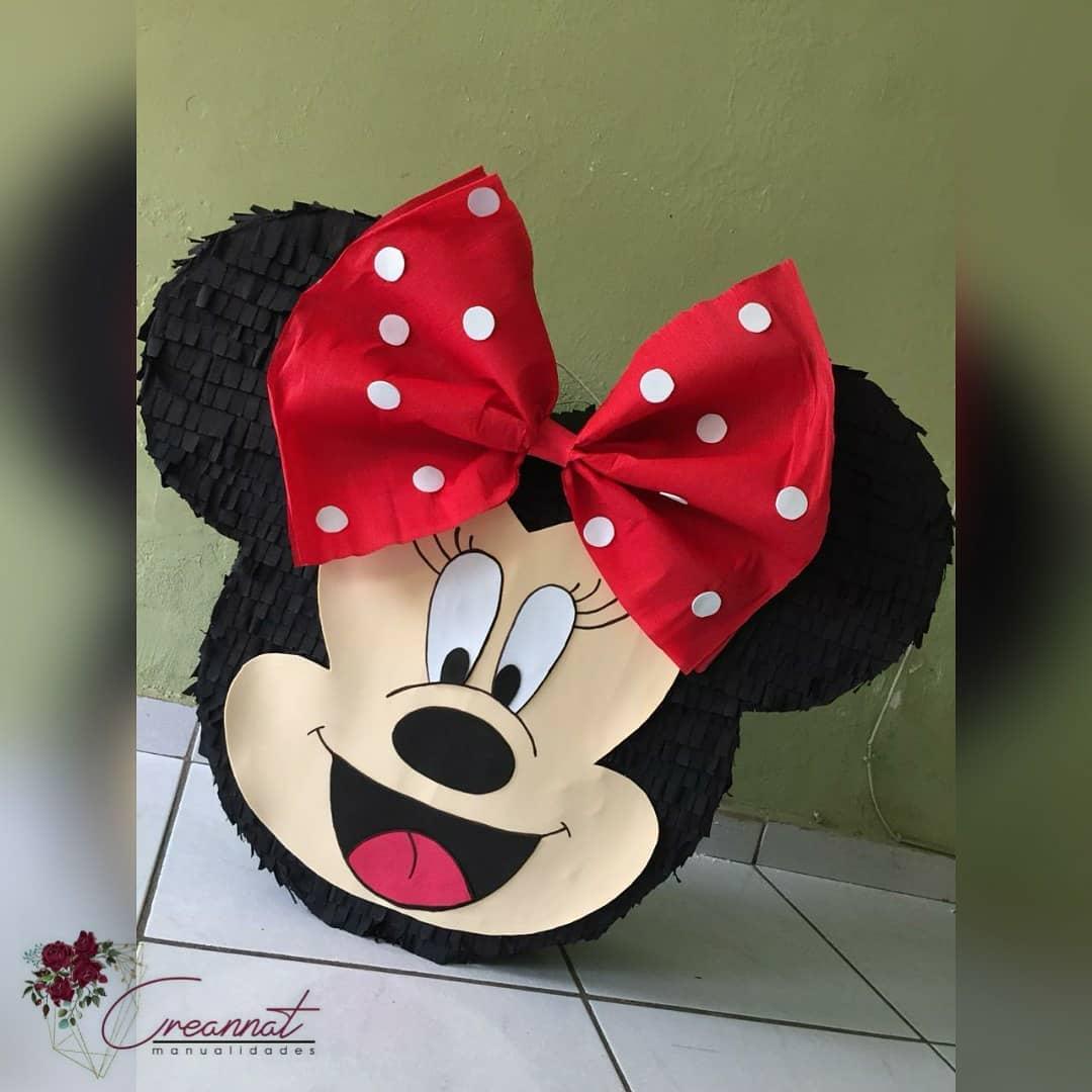 piñata orejas de minnie