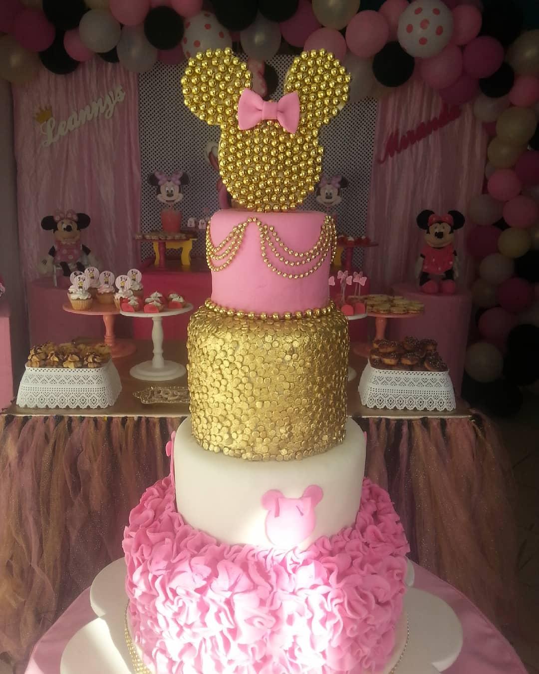 modelos de torta de minnie mouse