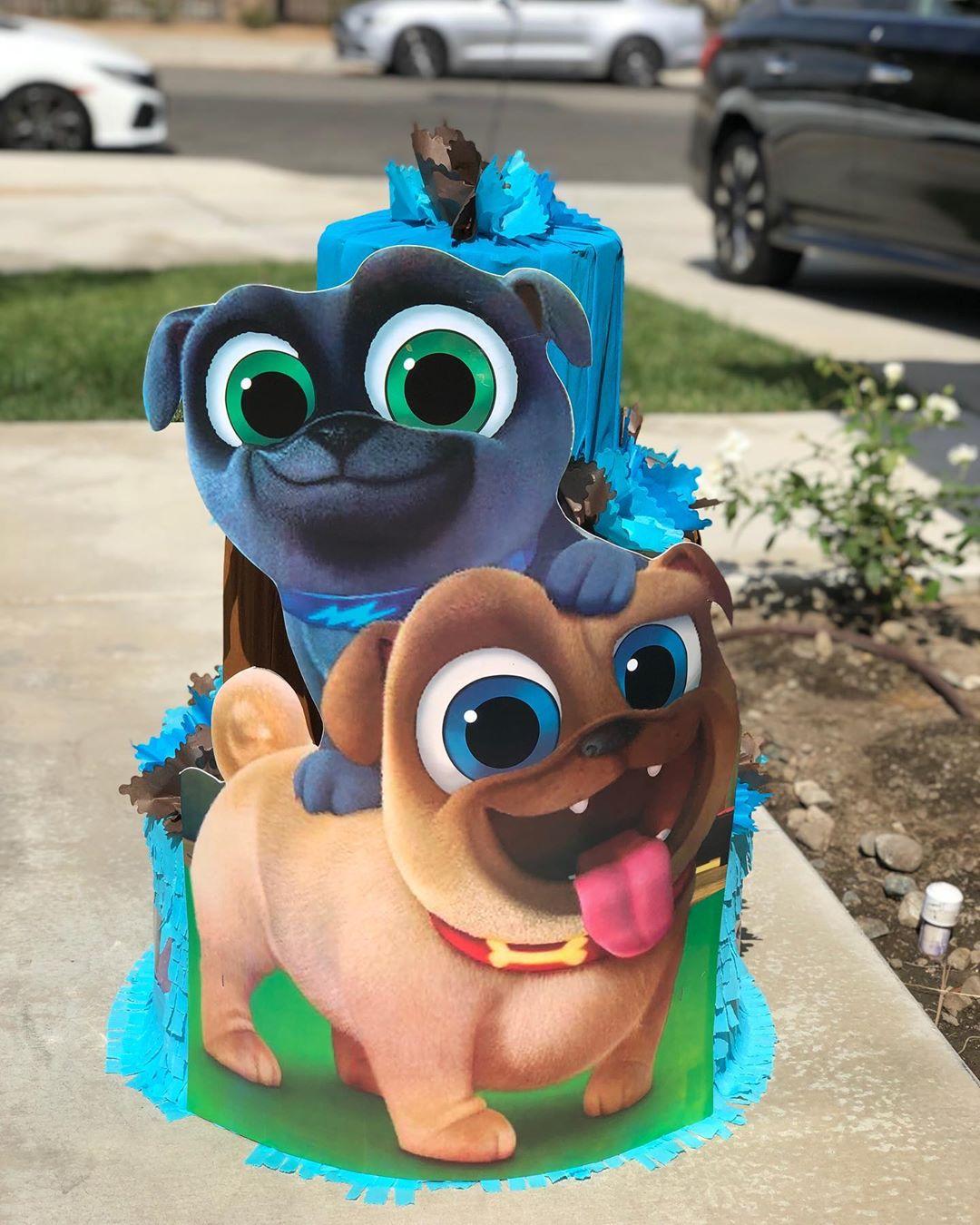 piñatas de puppy dog pals