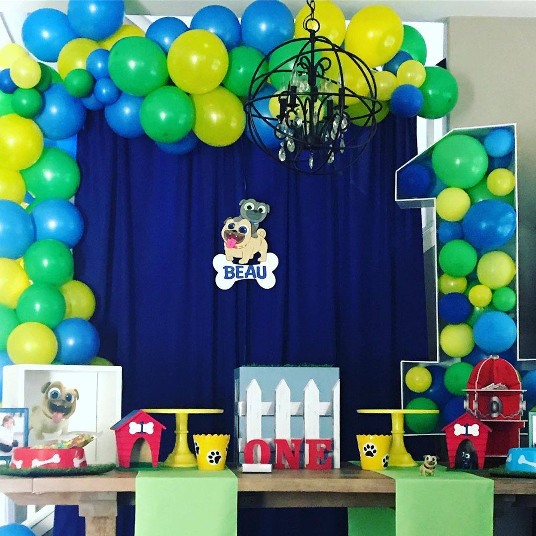 puppy dog pals party
