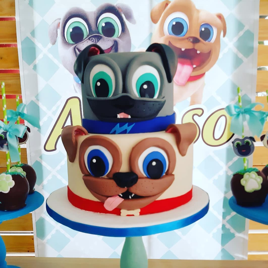 tortas de puppy dog pals