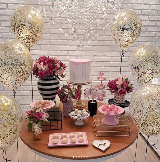 como decorar una fiesta de 20 años mujer