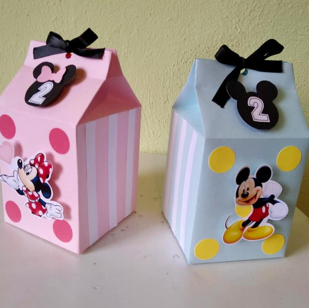 como hacer dulceros de mickey y minnie mouse