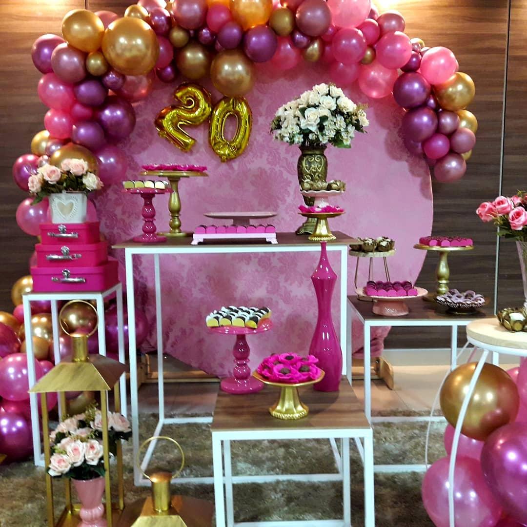 decoracion cumpleaños mujer joven