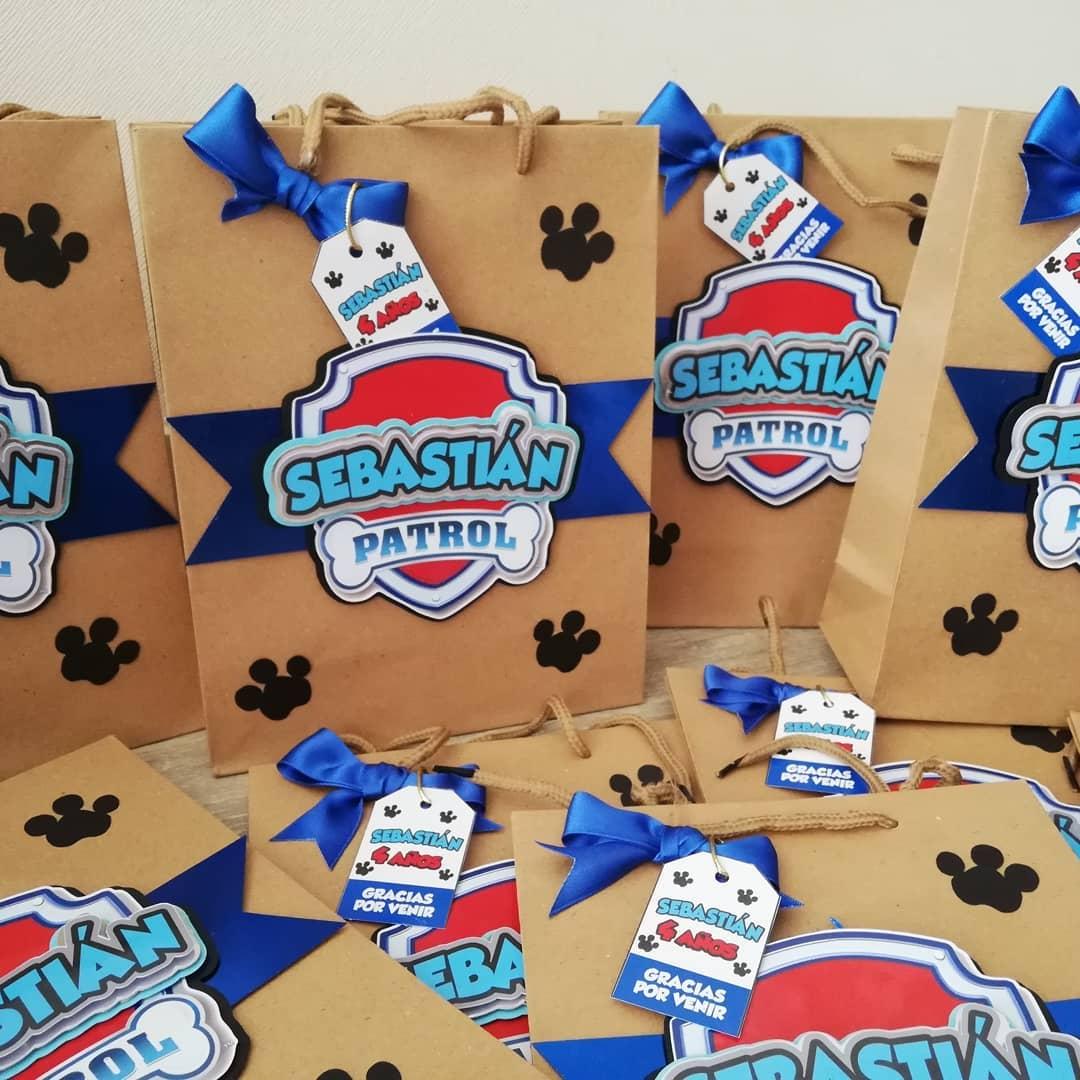 dulceros de paw patrol super creativos