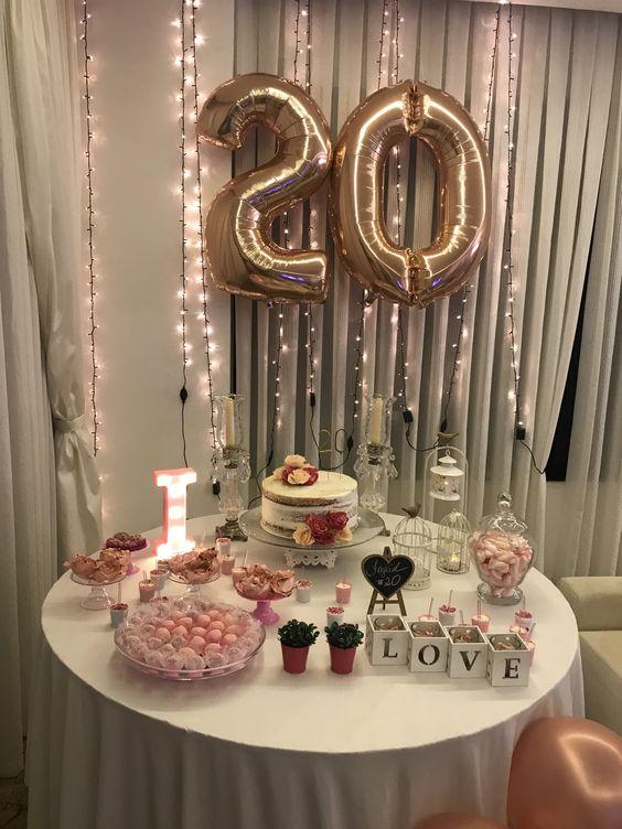 fiesta de 20 años mujer