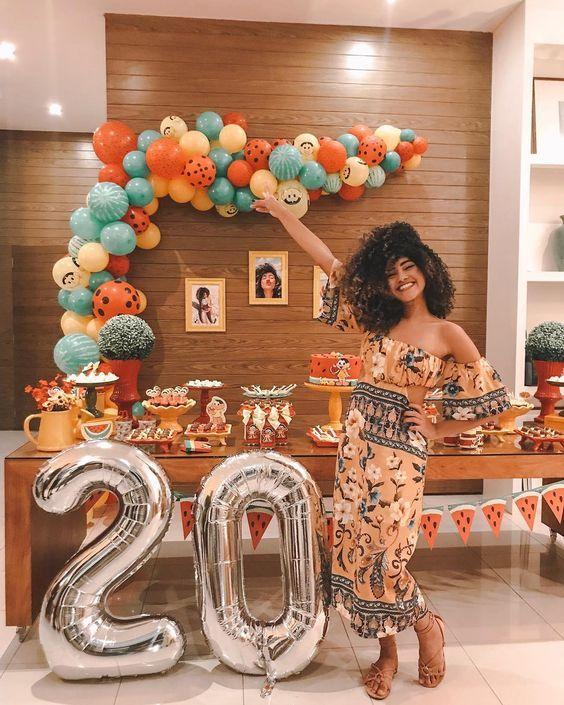 fiesta de 20 años para mujer