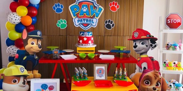 fiesta de paw patrol