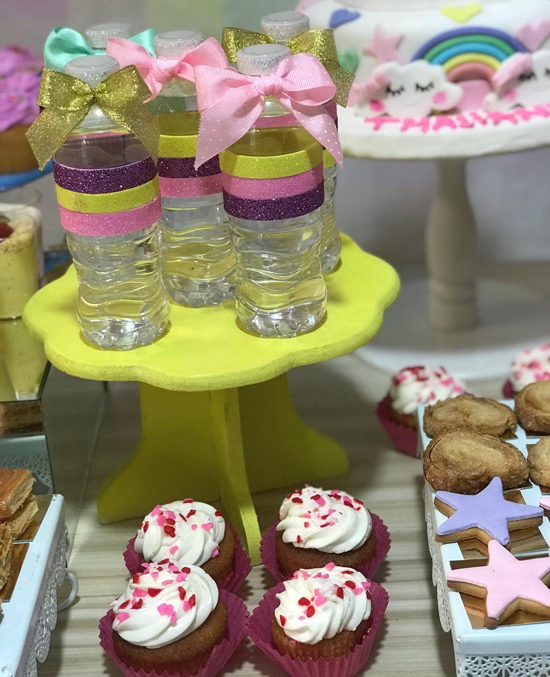 mesa de dulces tematica lluvia de amor