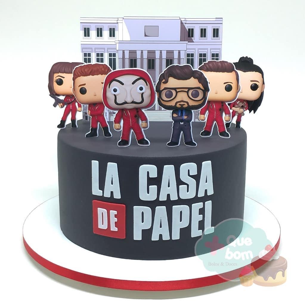 pasteles de la casa de papel
