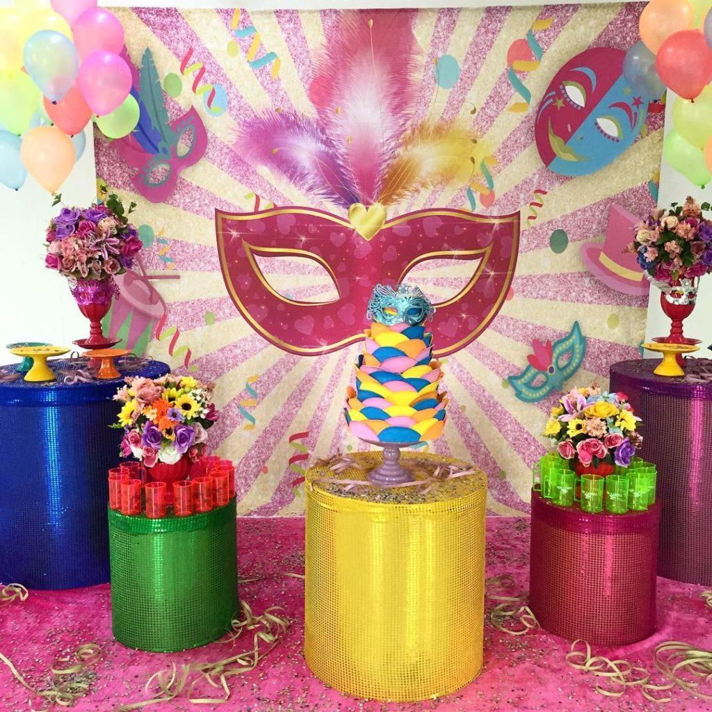 decoracion para fiesta de carnaval