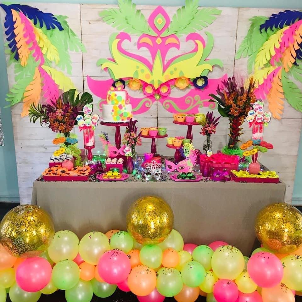decoraciones para fiesta de carnaval
