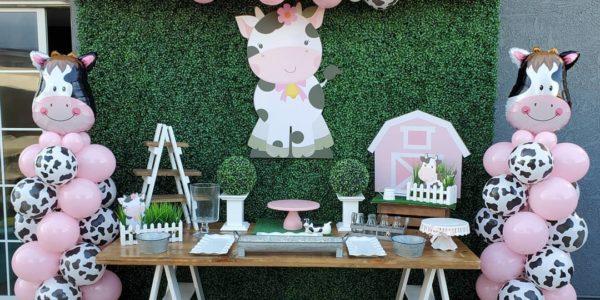 fiesta de la vaca lola para nina