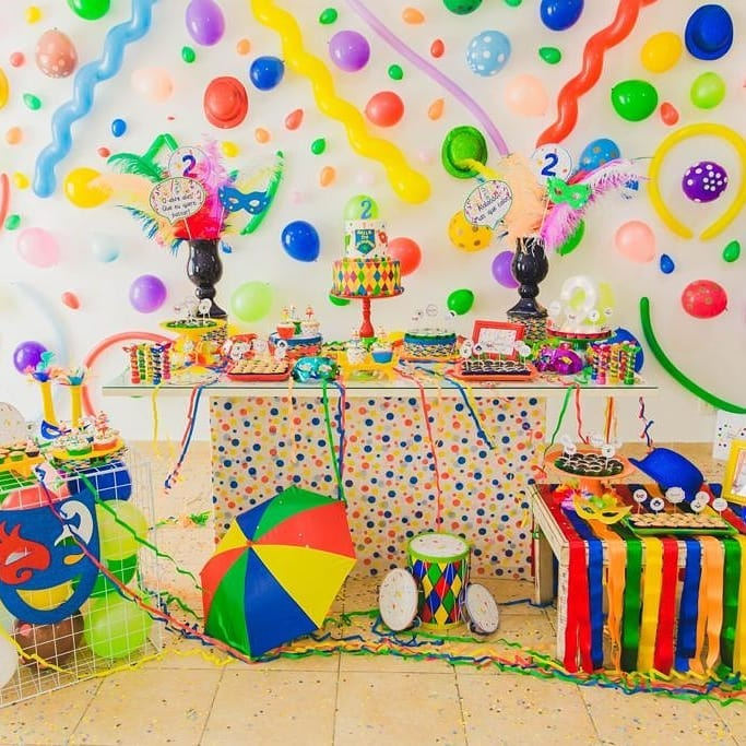 fiesta infantil de carnaval