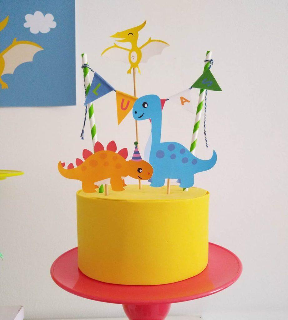 pasteles de dinosaurios