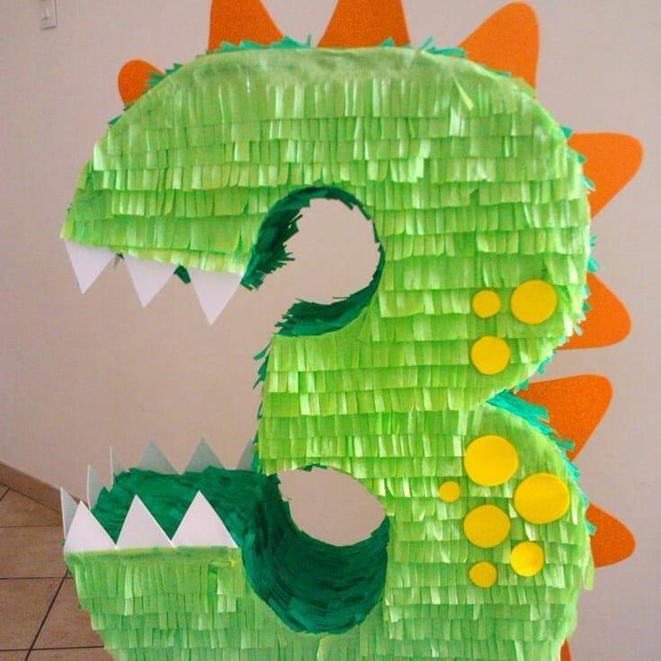 #piñatadedinosaurio