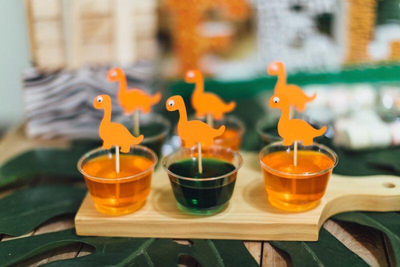postres para fiesta de dinosaurio