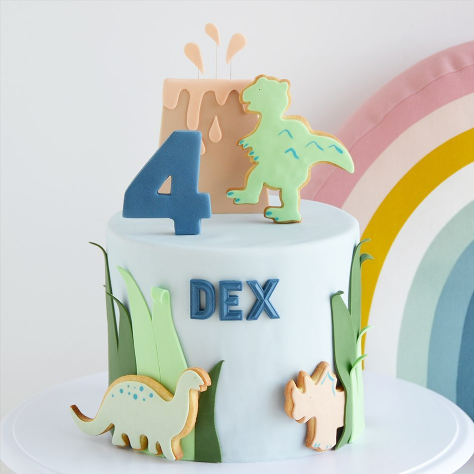 torta de dinosaurio